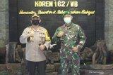 Irjen Muhammad Iqbal silaturahmi ke Makorem 162/WB dan Binda NTB