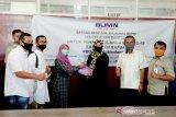 Satgas Bencana Nasional BUMN salurkan bantuan paket sembako di Kapuas