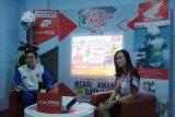 Edukasi Safety Riding live di IG Honda Sulteng, 'Memaafkan Dengan #Cari_Aman'