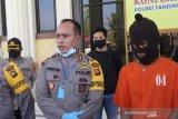 Polisi petugas posko perbatasan Jambi-Riau tangkap dua pembawa sabu-sabu