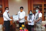Bank Indonesia bantu sembako bagi tenaga kesehatan di Sulteng