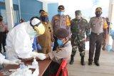 111 anggota TNI-Polri di Mamberamo Tengah melakukan pemeriksaan Rapid Test