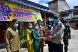 Wakil Bupati Inhil tinjau posko COVID-19 di dua kecamatan
