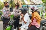 Tim gabungan tertibkan warga Kapuas yang tidak menggunakan masker