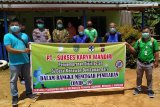 Sukamara dapat bantuan APD dan sembako dari PT SKM