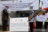 Chevron serahkan bantuan 350 paket sembako ke gugus tugas Pekanbaru