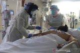 Jumlah pasien terpapar COVID-19 di rumah sakit AS memuncak