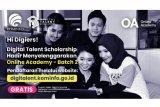 Kominfo membuka beasiswa DTS Online Academy 2020 gelombang kedua