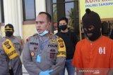 Polisi Posko Perbatasan Jambi-Riau berhasil meringkus dua napi asimilasi pembawa 500 gram sabu