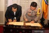 Gubernur dan Kapolda NTB teken kesepakatan penanganan ketertiban umum