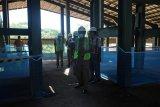 Bupati Pesisir Barat cek pembangunan kantor bupati