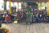 124 orang TKI ilegal diamankan prajurit Pangkalan TNI-AL Tanjung Balai Asahan