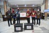 BNI Wilayah Makassar salurkan bantuan APD ke Kabupaten Gowa