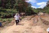 Nadalsyah tinjau perbaikan Jalan Negara Simpang Benangin