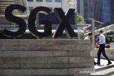 Saham Singapura bangkit dari kerugian