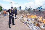 Bea Cukai musnahkan barang milik negara senilai Rp18,2 miliar