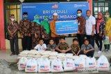 Bank BRI Cabang Solok berbagi sembako untuk Panti Asuhan PKU Muhammadiyah