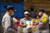 Polres Mesuji Lampung berikan sembako kepada warga