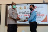 Polresta Jayapura Kota terima paket sembako dari KSP Sahabat Mitra Sejati