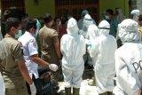 10 orang penjemput paksa jenazah COVID-19 ditetapkan sebagai tersangka