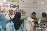 DPD REI Sumbar beri santunan puluhan anak yatim di Sungai Pinang