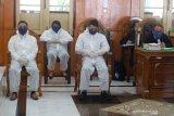 Terdakwa pembunuh hakim di Medan dituntut seumur hidup