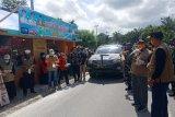 Bupati Inhil pastikan check point di wilayah perbatasan berjalan sesuai aturan