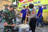 Dapur umum TNI-Polri