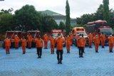 Basarnas Makassar gelar apel siaga jelang Idul Fitri 1441 H