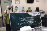 Mahasiswa KKN Kedokteran Unand bantu APD RSUD Petala Bumi Pekanbaru