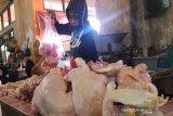 Jelang Lebaran, harga telur dan daging ayam di Temanggung naik
