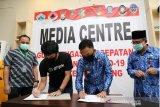 Gugus Tugas Penanganan COVID-19 Bantaeng terima bantuan dari Gojek