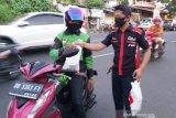 CMC-Bold Riders Manado bantu ojol dan anak yatim Saat Pandemi COVID-19