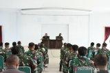 Danrem 143/HO minta prajurit TNI melakukan tes cepat COVID-19