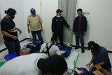 Rumah diduga pabrik sabu di Semarang digeledah BNN