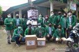 Mahasiswa KKN Fakultas Teknik Unand bantu puskesmas Alai