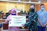 Dua pahlawan kesehatan PNS TNI AD terima santunan Asabri