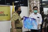 Satgas BUMN Lampung serahkan bantuan APD kepada Gugus Tugas Penanganan COVID-19