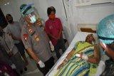 Kapolda Papua dan Pangdam kunjungi korban penganiayaan  di Paniai