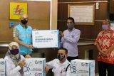 PLN kembali bagikan 6.000 paket sembako di masa pandemi COVID-19