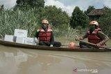 ACT Sumsel salurkan 500 paket sembako untuk korban banjir OKU Timur