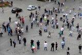 Partai oposisi Italia berunjuk rasa di Roma