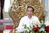 Presiden Joko Widodo minta KPK ikut dampingi penyaluran bansos COVID-19