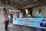 PPNI Pesisir Barat bagikan sembako dan masker di empat kecamatan