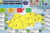 Pasien positif COVID-19 di Provinsi Jambi bertambah dari tiga kabupaten dan kota
