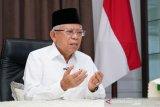 Wapres Ma'ruf Amin terima ucapan Idul Fitri dari Wakil PM Singapura