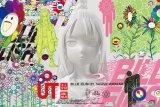 Kaos Uniqlo hasil kolaborasi Billie Eilish dan Takashi Murakami