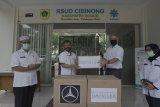 Mercedes Benz dan Daimler sumbang masker untuk RSUD