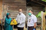 PTPN V salurkan ribuan paket sembako senilai Rp1 miliar di Provinsi Riau dukung new normal