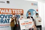 BNI adakan tes swab gratis kepada 30 ribu orang